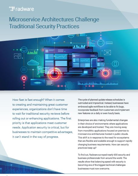 Microservice Architectures Challenge Traditional Security Practices
