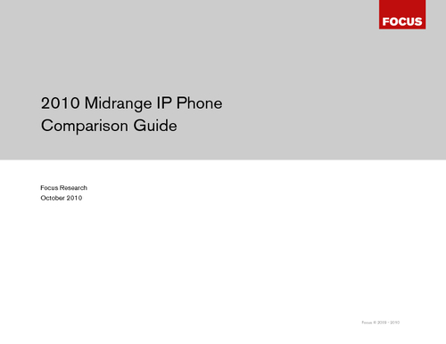 Midrange IP Phone Comparison Guide