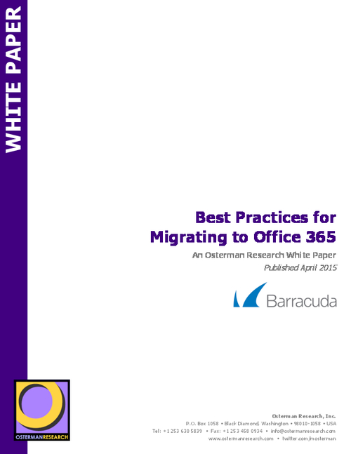 Migrate to Office 365 Successfully