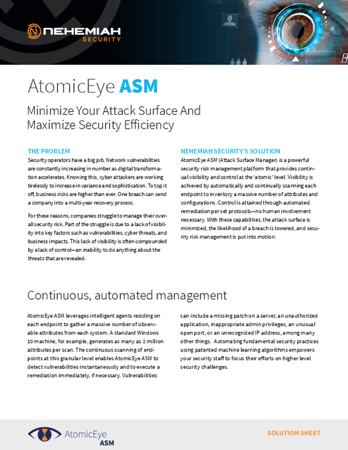Minimize Your Attack Surface And Maximize Security Efficiency