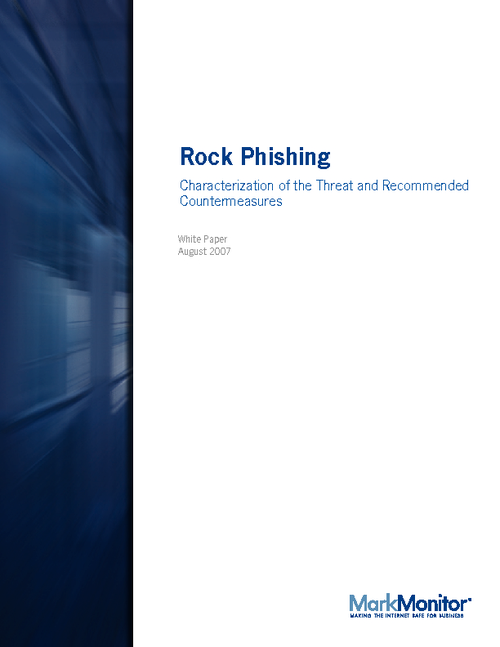 Mitigating Rock Phish Attacks