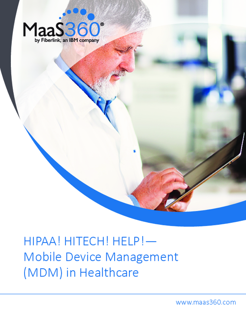 Mobile Device Management (MDM) in Healthcare