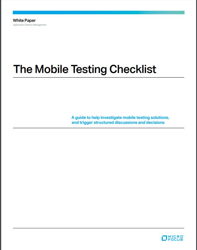 The Mobile Testing Checklist