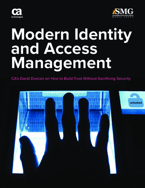 Modern Identity and Access Management