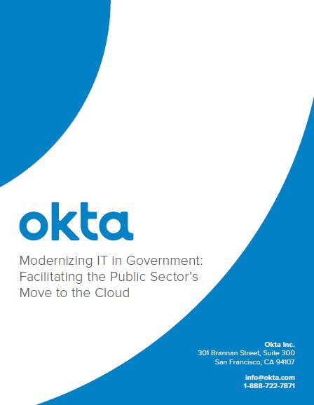 Modernizing IT in Government: Facilitating the Public Sector's Move to the Cloud