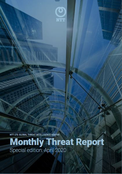 Monthly Threat Report - April 2020