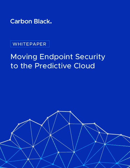 Moving Endpoint Security to the Predictive Cloud