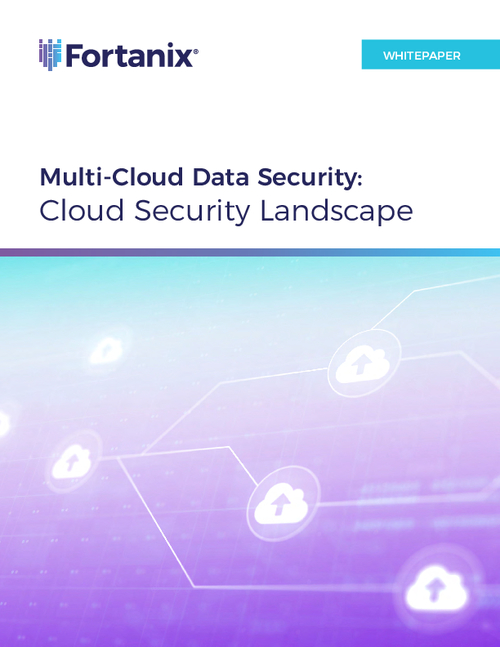 Multi-Cloud Data Security: Cloud Security Landscape