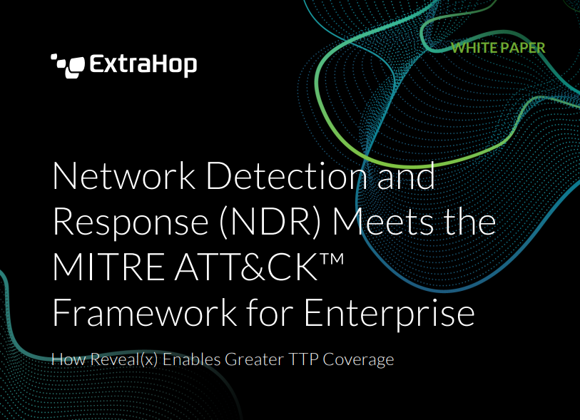 Network Detection & Response for MITRE ATT&CK Framework