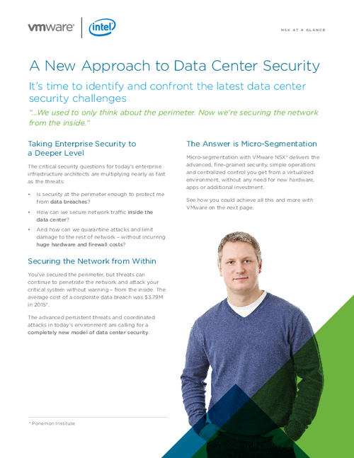 A New Approach to Data Center Security