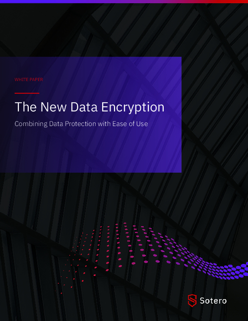 The New Data Encryption: Combining Data Protection with Ease of Use
