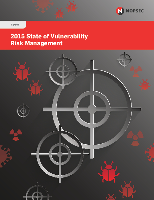2015 State of Vulnerability Risk Management