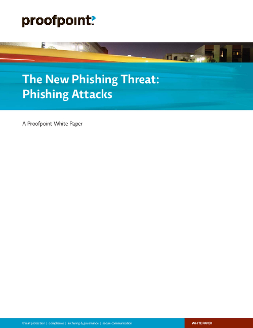 The New Phishing Threat: Phishing Attacks
