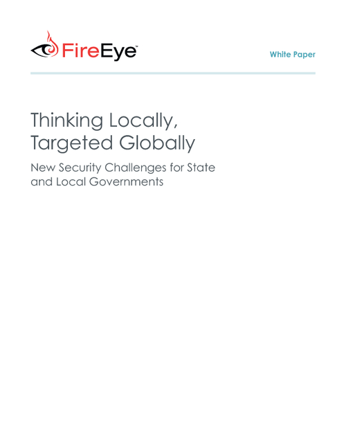 New Security Challenges for State and Local Governments