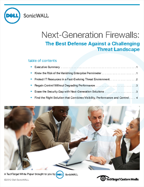Next-Generation Firewalls: The Best Defense Against a Challenging Threat Landscape