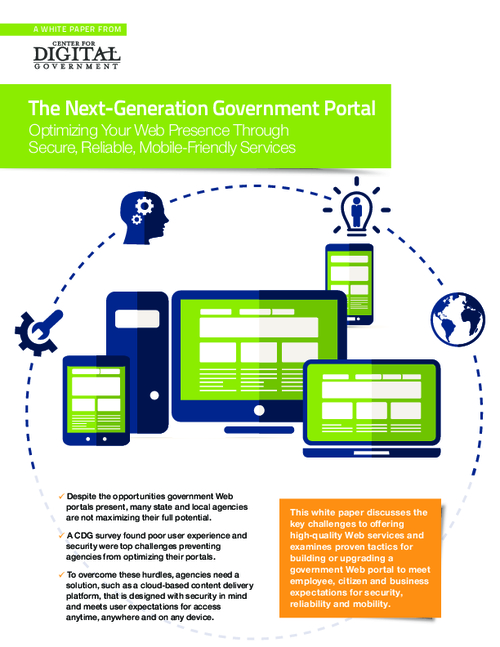 The Next-Generation Government Portal: Optimizing Your Web Presence Through Secure, Reliable, Mobile-Friendly Services