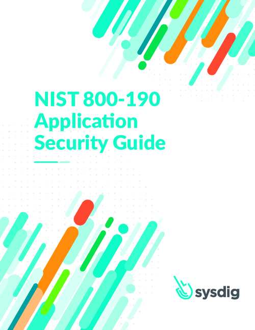 NIST 800-190 Application Security Guide