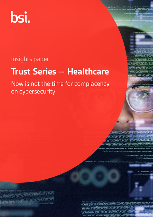Now is Not the Time for Complacency on Cybersecurity in Healthcare