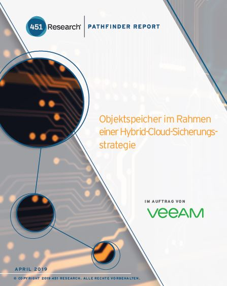 Object Storage as Part of a Hybrid Cloud Backup Strategy (German Language)