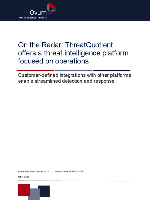 On the Radar: A Threat Intelligence Platform Focused on Operations