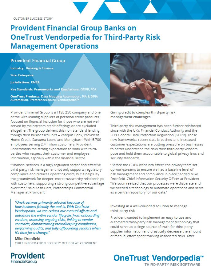 Overcoming Third-Party Risk Management Challenges