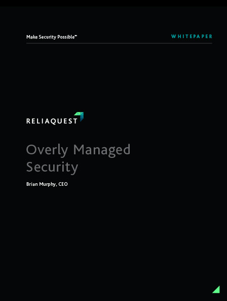Overly Managed Security: Rethinking the Problem