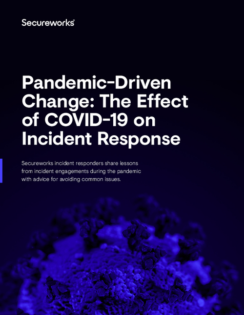 Pandemic-Driven Change: The Effect of COVID-19 on Incident Response