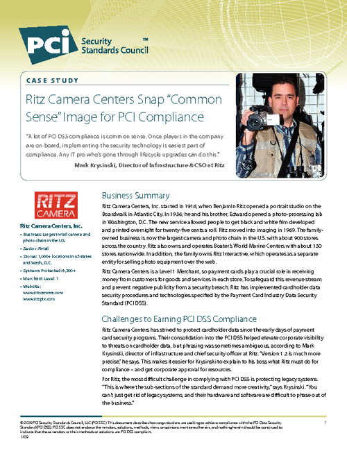 PCI Case Study: Attaining Compliance