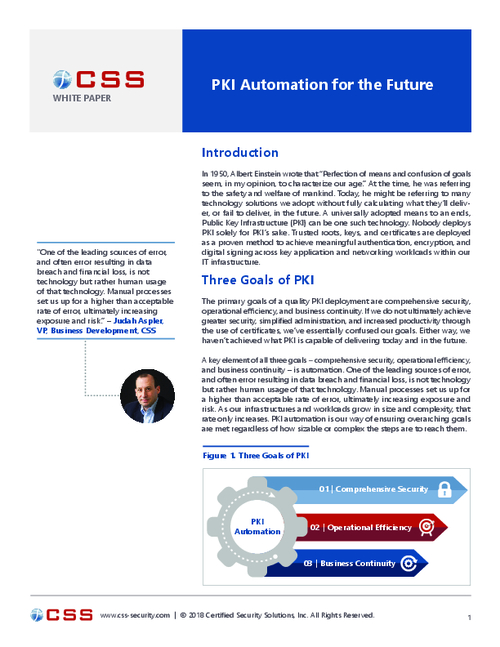 PKI Automation for the Future