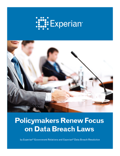 Policymakers Renew Focus on Data Breach Laws