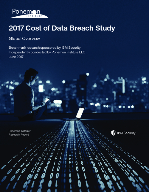 Ponemon: The Global Overview Of The Data Breach Study
