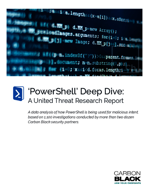 PowerShell Deep Dive: A United Threat Research Report