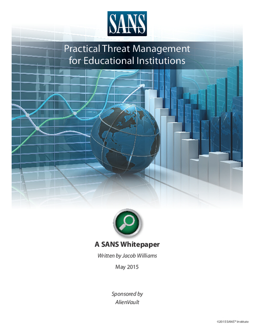 Practical Threat Management for Educational Institutions