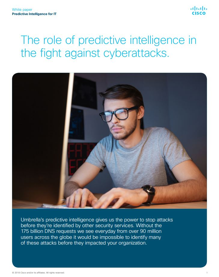 Predictive Intelligence: Pre-Crime for IT