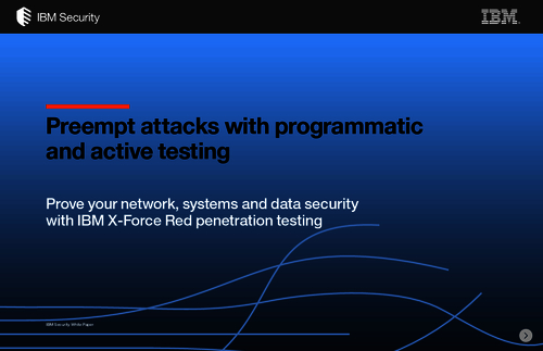 Preempt Attacks With Programmatic and Active Testing