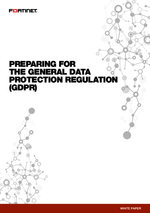 General Data Protection Regulation (GDPR):  Are You Prepared?