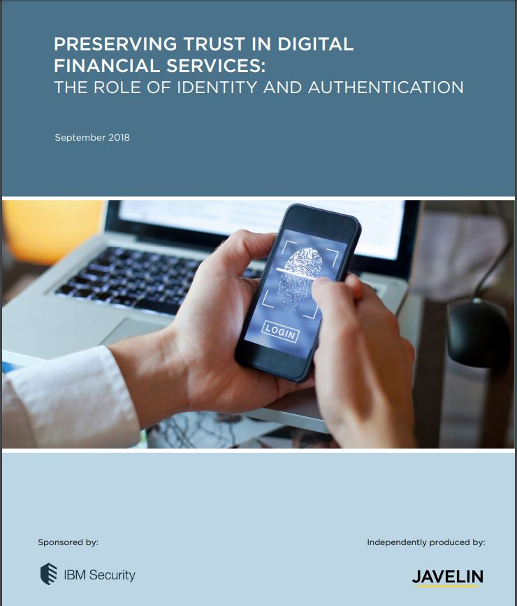 Preserving Trust in Digital Financial Service: The Role of Identity and Authentication