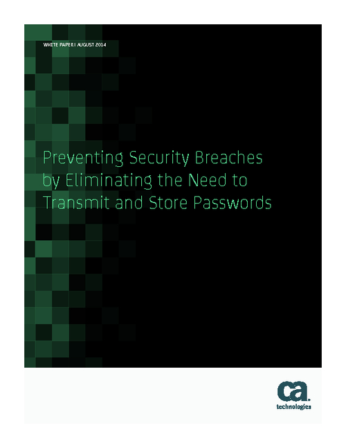 Breach Prevention Tactics: How to Eliminate Stored Passwords