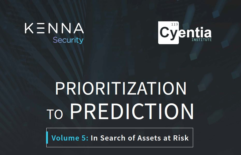 Prioritization to Prediction: In Search of Assets at Risk