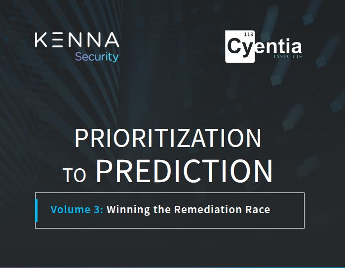 Prioritization to Prediction: Winning the Remediation Race