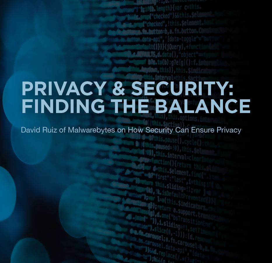Privacy & Security: Finding the Balance