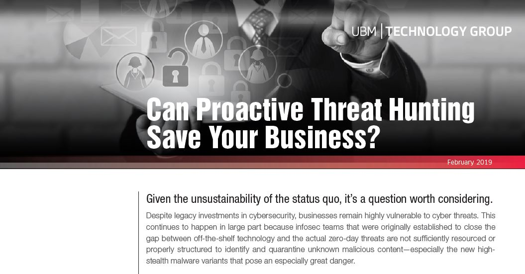 Can Proactive Threat Hunting Save Your Business?