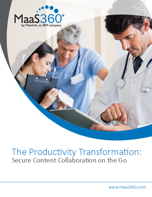 The Productivity Transformation: Secure Content Collaboration on the Go