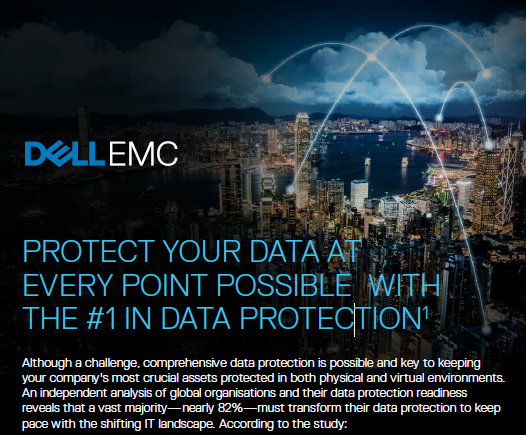 Protect your Data at every point possible with the #1 in Data Protection