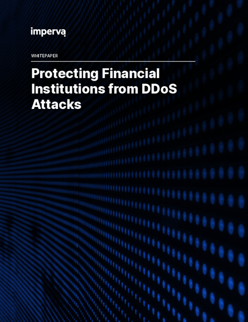 Protecting Financial Institutions from DDoS Attacks
