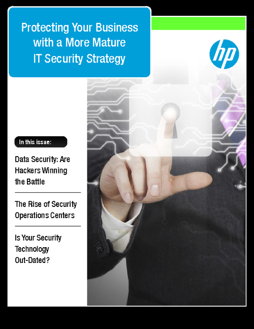 Protecting Your Business With a More Mature IT Security Strategy