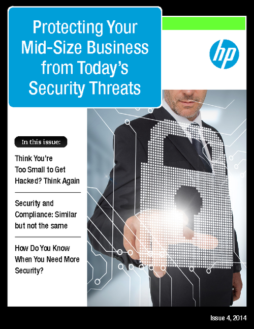 Protecting Your Mid-Size Business from Today's Security Threats