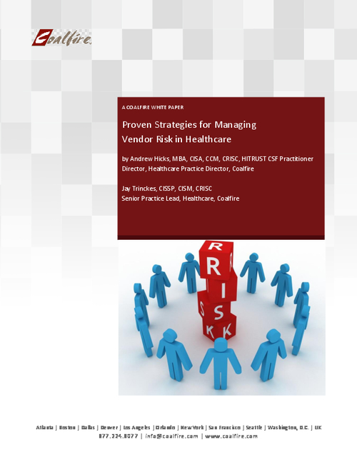 Proven Strategies for Managing Vendor Risk in Healthcare