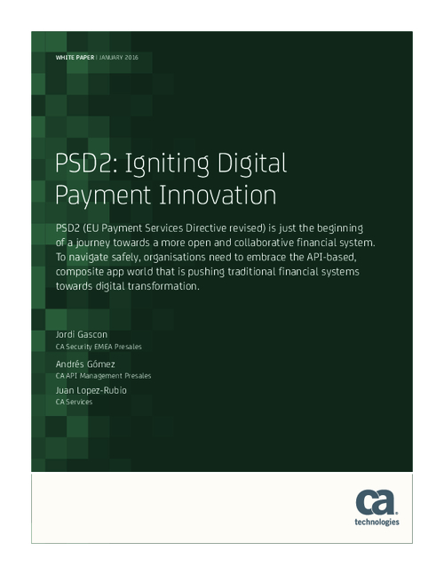 PSD2: Igniting Digital Payment Innovation