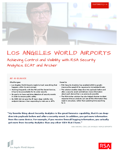 Q&A with CISO of LA World Airports on their State-of-the-Art SOC